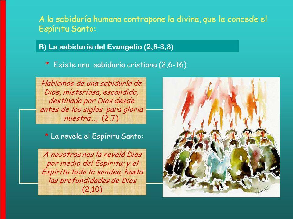 * Experiencia de Pablo (2,1-5): predicó con muchas limitaciones personales Pues yo, hermanos, cuando fui a vosotros, no fui con el prestigio de la pal