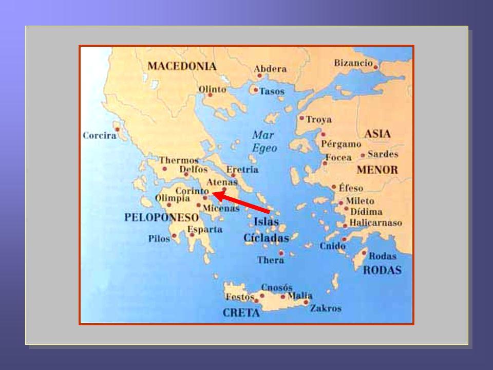 Pablo se encuentra en Éfeso, a donde llegó posiblemente el año 54, en su tercer viaje, y allí permanecerá hasta Pentecostés del año 57.