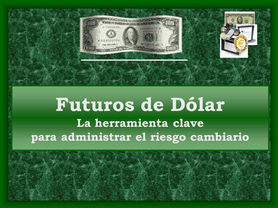 Futuros de Dólar La herramienta clave para administrar el riesgo cambiario