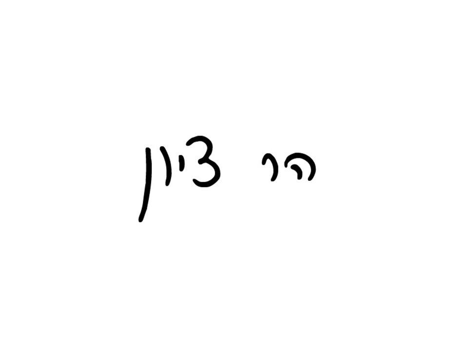 Tzion es uno de los nombres de la ciudad de Ierushalaim pero, a su vez, designa a una parte específica de la misma.