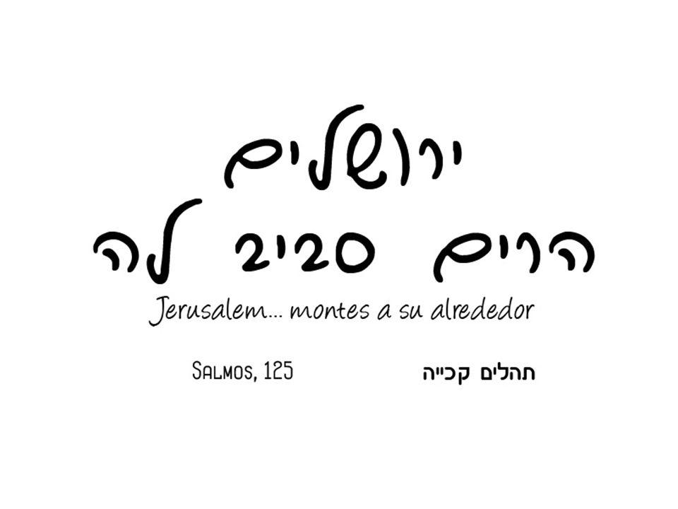 Ierushalaim es una ciudad distinta...