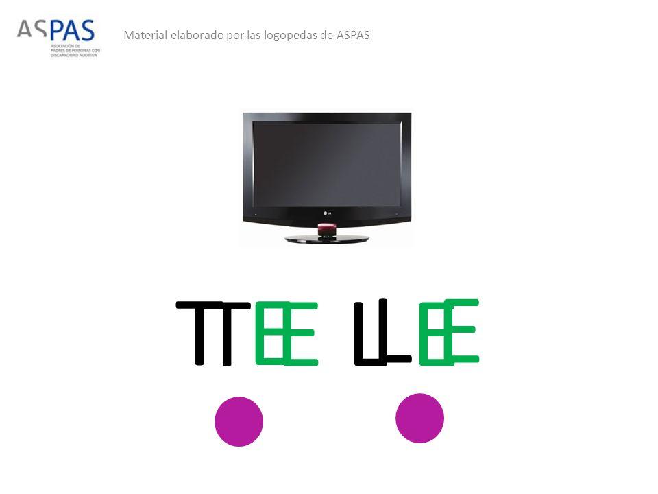 Material elaborado por las logopedas de ASPAS T E L E T E L E