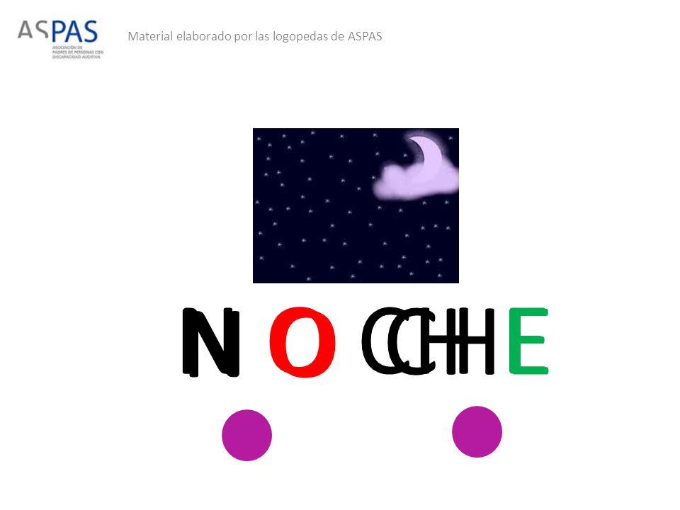 Material elaborado por las logopedas de ASPAS N O CHE N O CH E
