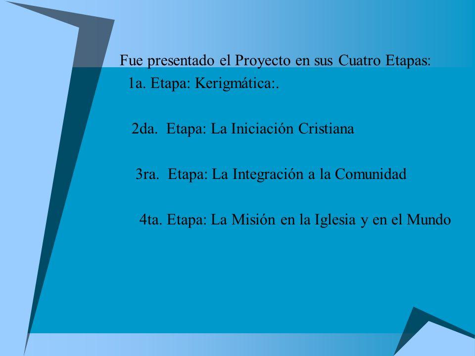 Proyecto Nacional de Catequesis de Adultos En el año de 1977, nuestros obispos mexicanos, en vista de la situación de la realidad pastoral, se dieron