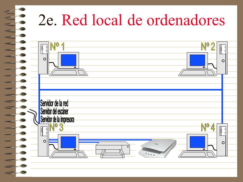 2d. Escáner Es un periférico que lee la imagen punto por punto y transmite los datos así obtenidos al ordenador.