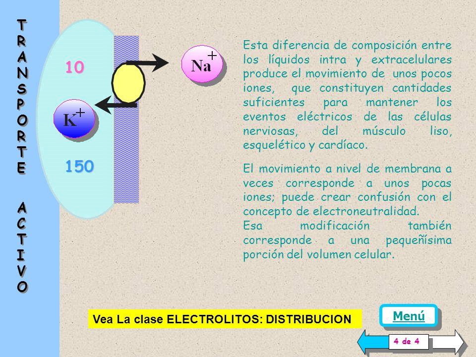 Las variaciones de concentración o los conceptos de electroneutralidad se refieren habitualmente a Equivalentes químicos (del orden de 6.06 * 10 23 mo