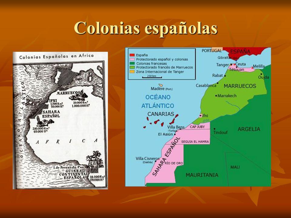 Colonias españolas
