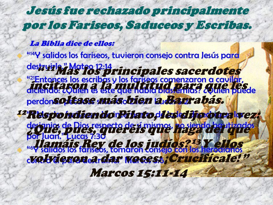 14 Y salidos los fariseos, tuvieron consejo contra Jesús para destruirle.