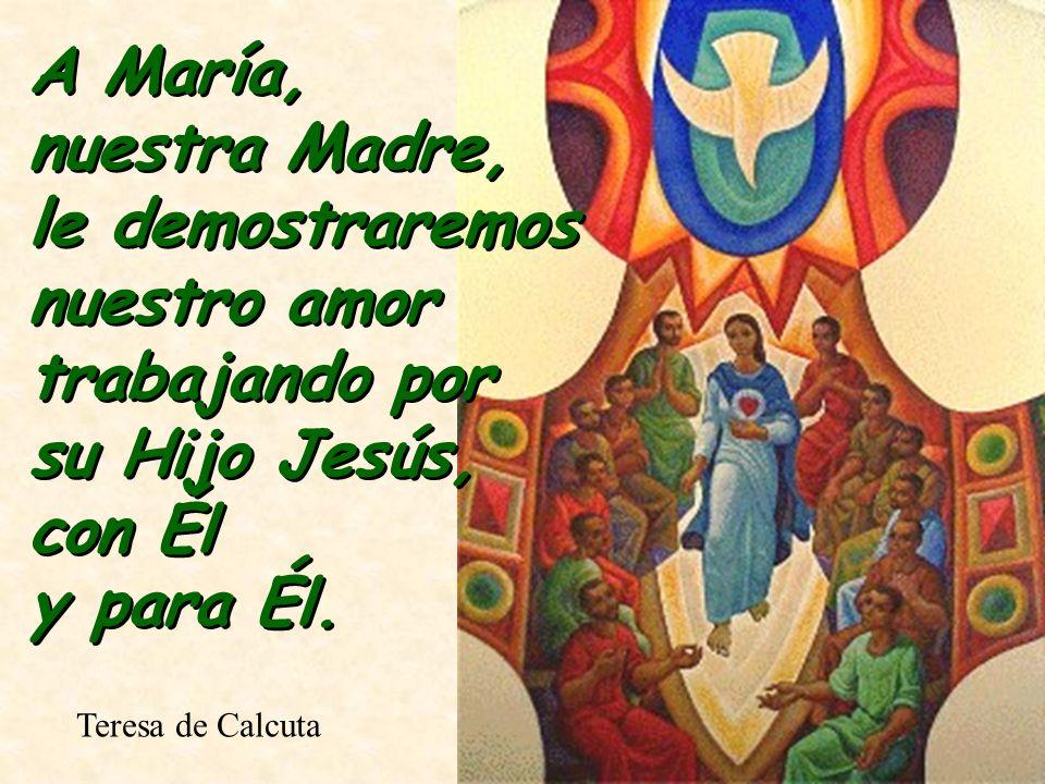 María es para el alma como el oratorio del corazón, para hacer en él todas las oraciones a Dios.