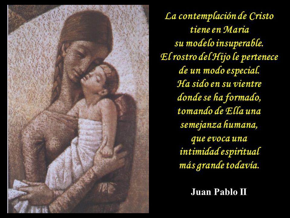 Es casi imposible ir hacia Jesús, si no se va por medio de María.