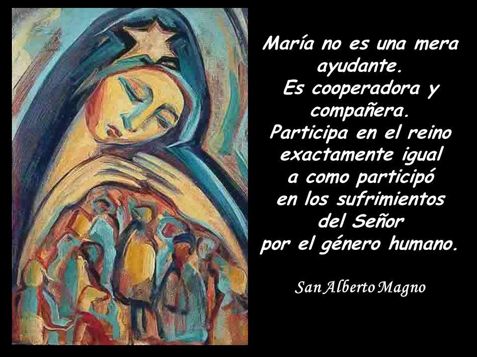 Todo lo tenemos en María.