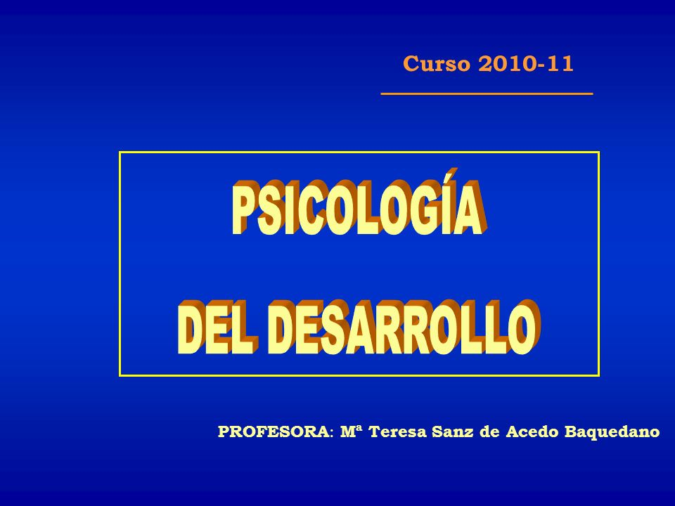 TEMA 6. El desarrollo del lenguaje oral
