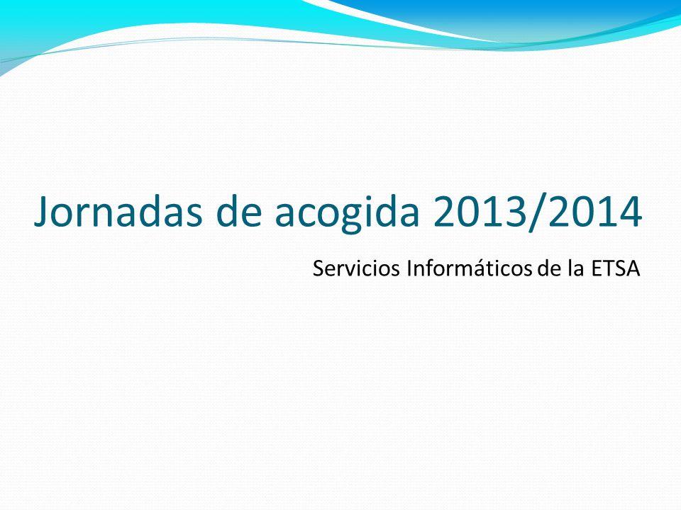 SERVICIOS INFORMÁTICOS http://www.upv.es/entidades/ETSA/informatica Existen múltiples servicios para los alumnos de la ETSA a los que se accede mediante: DNI y PIN Usuario / clave UPV Servicios proporcionados por la UPV a alumnos: Intranet PoliformaT