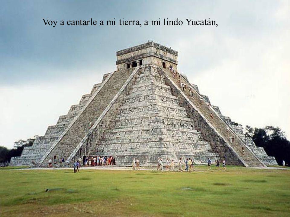 Canto a mi Tierra Ligia Lara de V. Letra, Música, y Voz Fin Yucatán