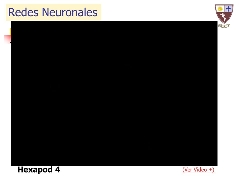 Hexapod 4 (Ver Video +) Redes Neuronales