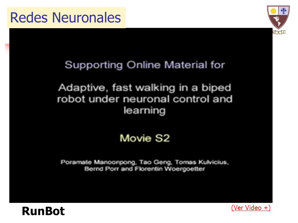RunBot (Ver Video +) Redes Neuronales