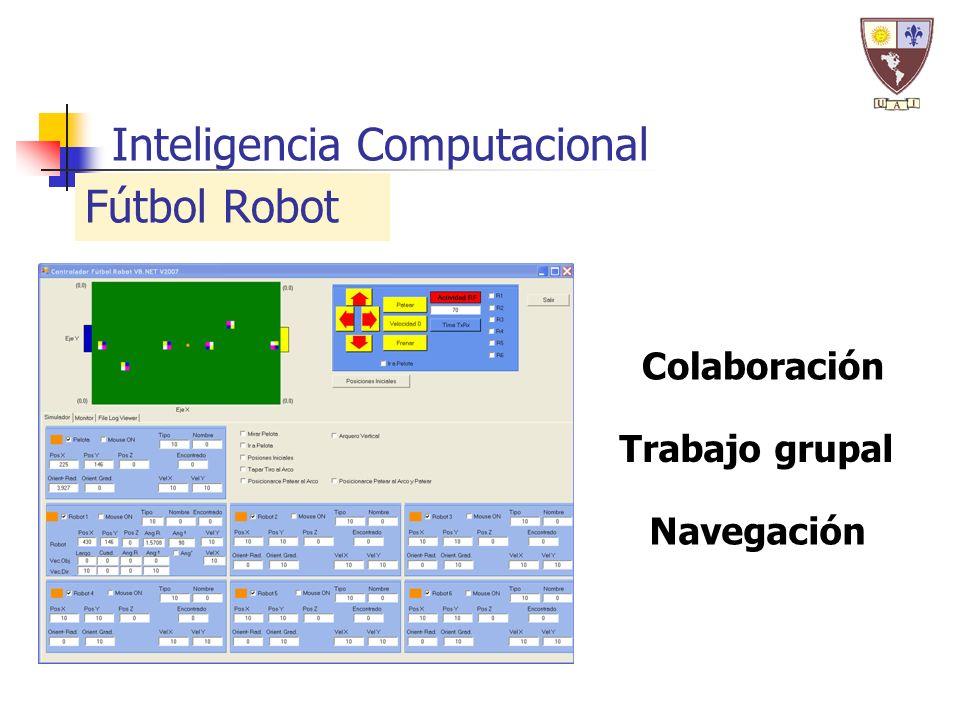 Inteligencia Computacional Navegación Trabajo grupal Colaboración Fútbol Robot