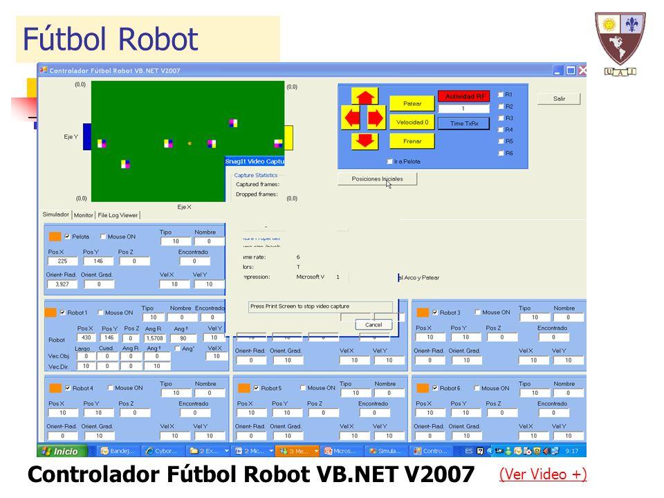 (Ver Video +) Fútbol Robot Controlador Fútbol Robot VB.NET V2007
