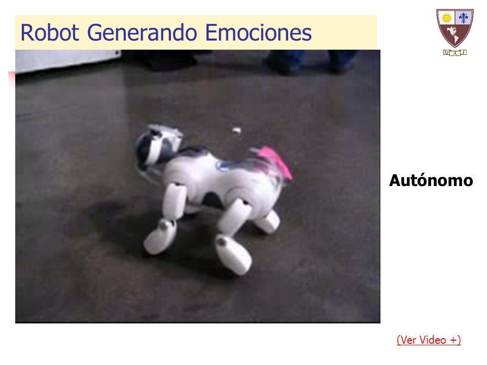 Autónomo (Ver Video +) Robot Generando Emociones