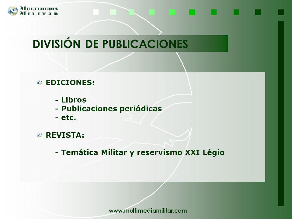www.multimediamilitar.com Multimedia Militar puede llevar su Gabinete de Comunicación, especialmente dirigido a empresas, grupos y asociaciones, Multi
