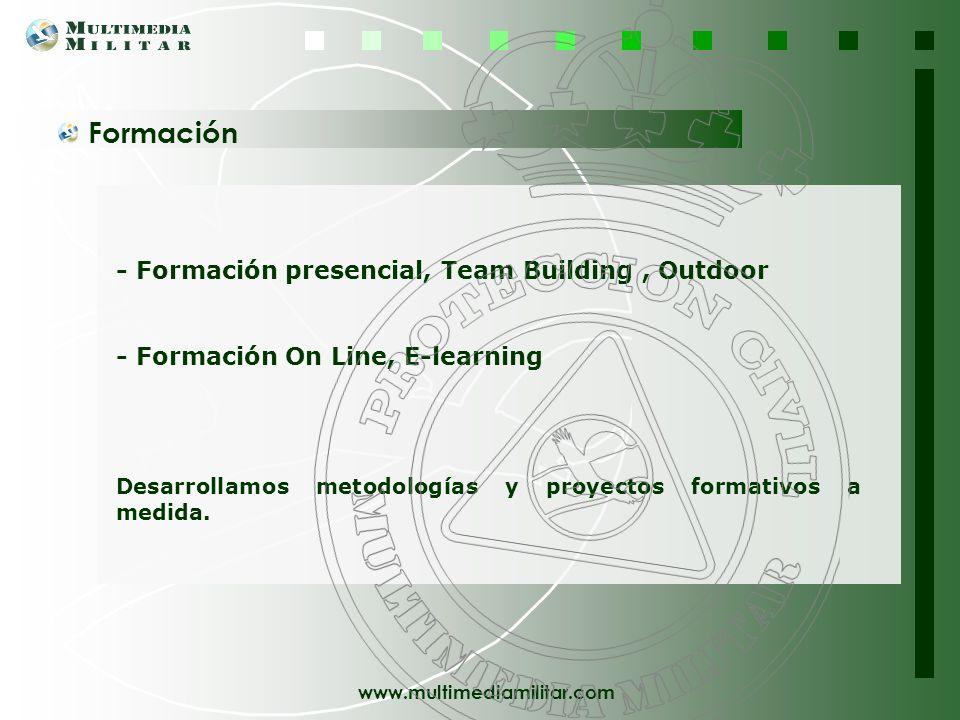www.multimediamilitar.com DIVISIÓN DE PROTECCIÓN CIVIL Esta División se pone a disposición de nuestros clientes con la voluntad dirigida a potenciar l