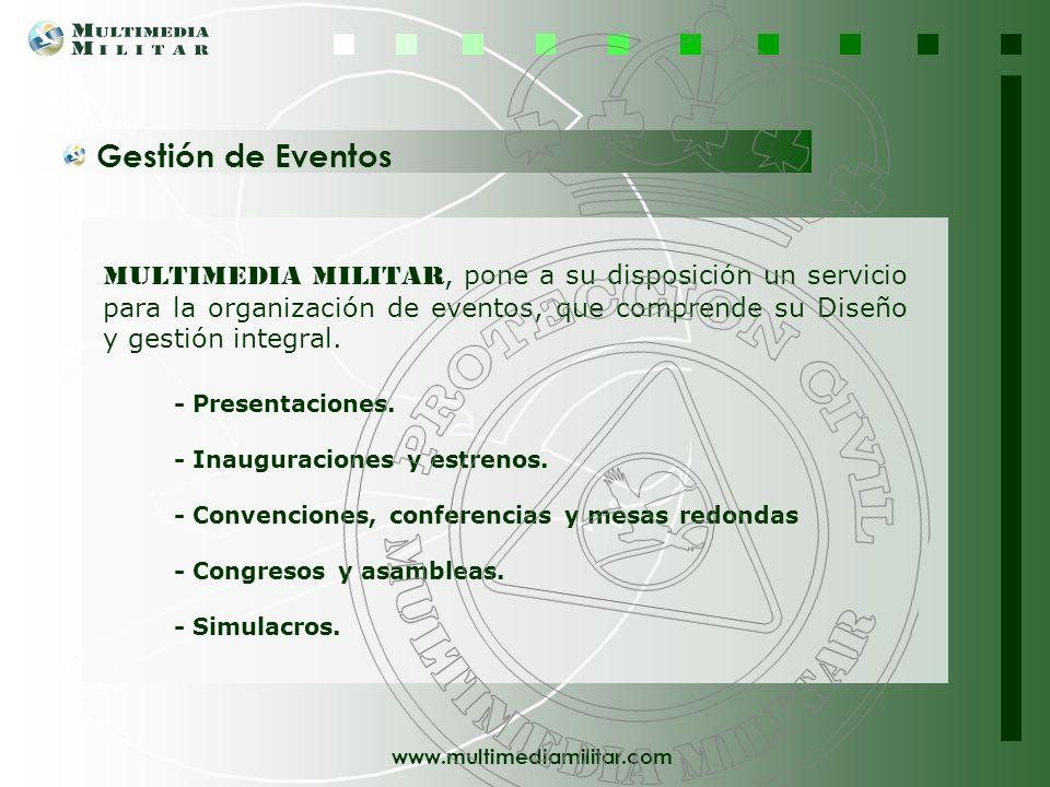 www.multimediamilitar.com Formación - presencial, Team Building, Outdoor - Formación On Line, E-learning Desarrollamos metodologías y proyectos format