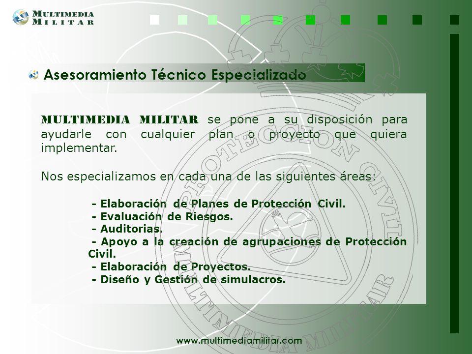 www.multimediamilitar.com Gestión de Eventos Multimedia Militar, pone a su disposición un servicio para la organización de eventos, que comprende su D