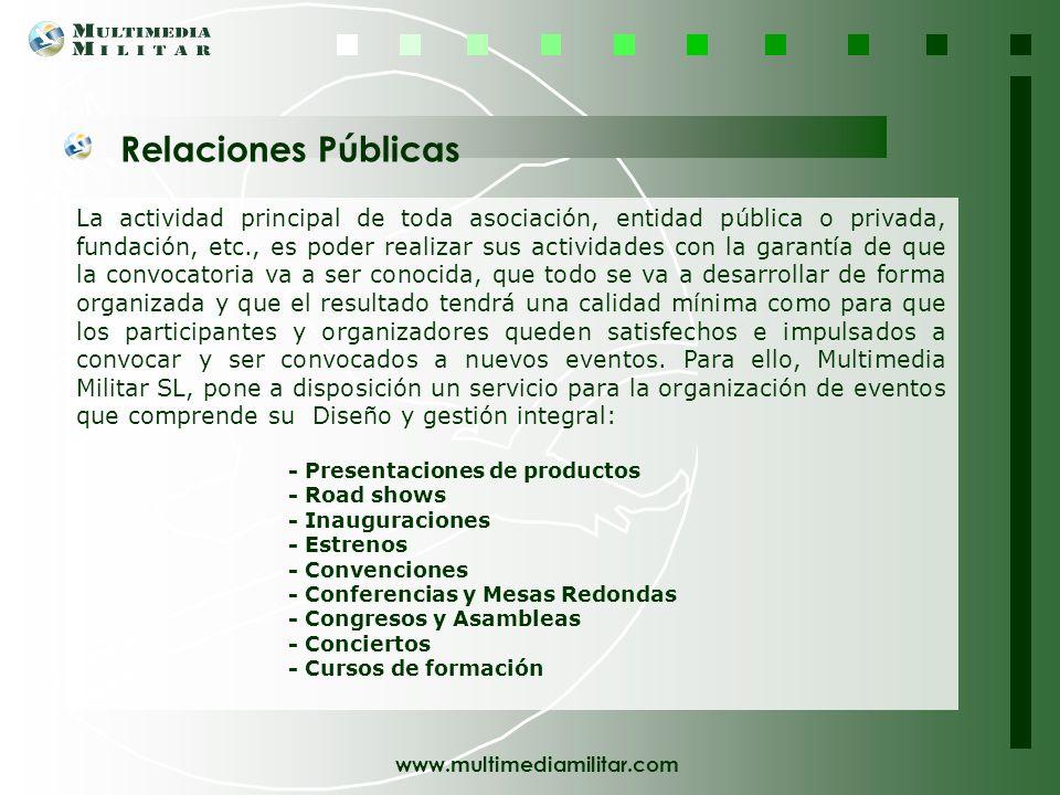 www.multimediamilitar.com Multimedia Militar, SL posibilita con el Outdoor Training la integración del equipo empresarial y el desarrollo de las habil
