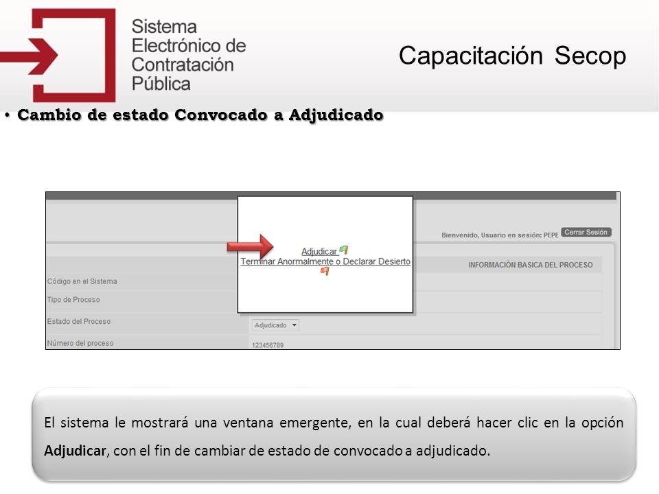CAMBIO DE ESTADO BORRADOR A DESCARTADO Para llevar un proceso de Borrador a Descartado, en primera instancia deberá iniciar sesión con su usuario y clave.