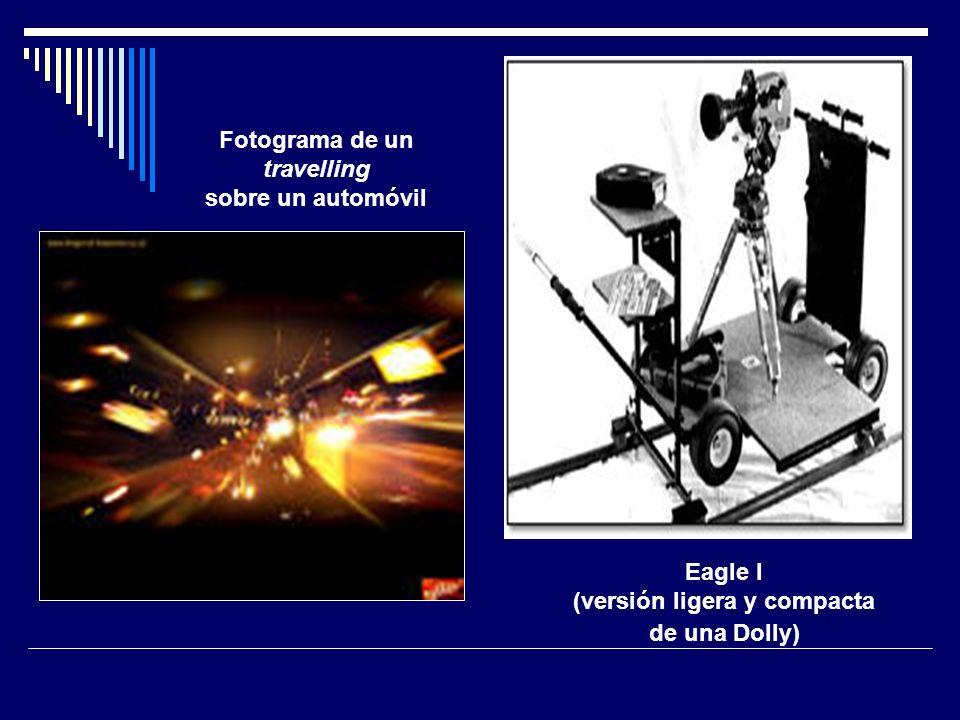 Eagle I (versión ligera y compacta de una Dolly) Fotograma de un travelling sobre un automóvil