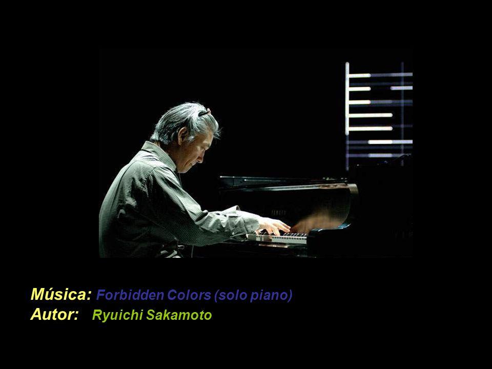 Música: Forbidden Colors (solo piano) Autor: Ryuichi Sakamoto