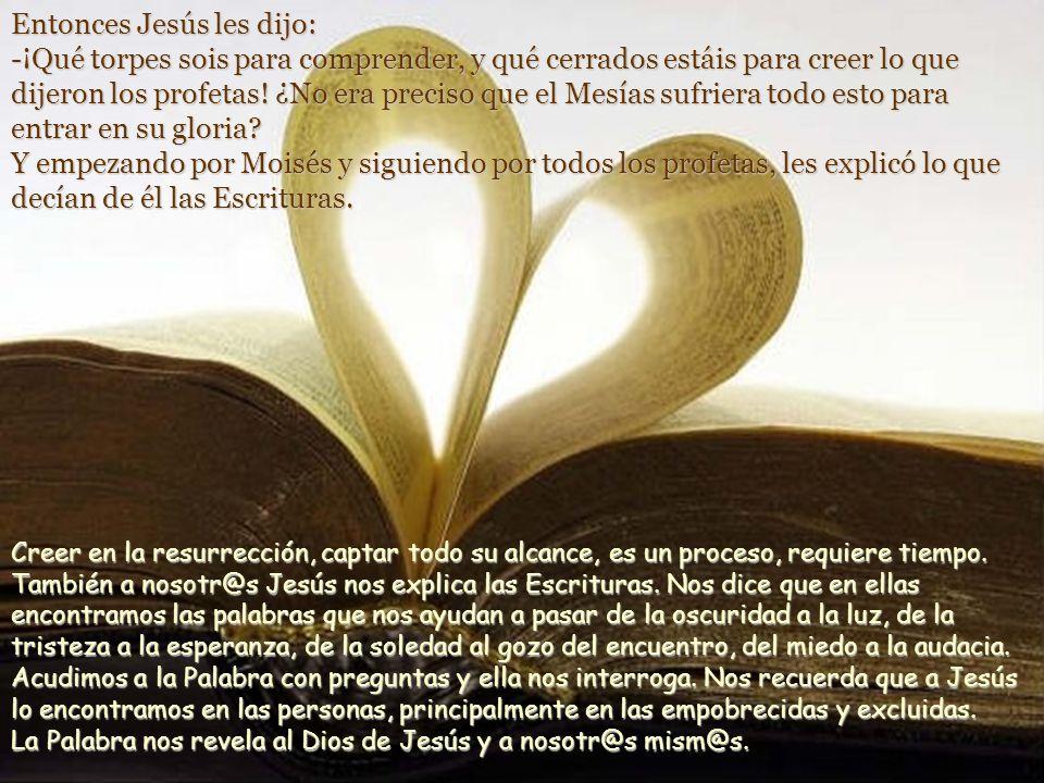 Ellos contestaron: -Lo de Jesús el Nazareno, que fue un profeta poderoso en obras y palabras ante Dios y ante todo el pueblo. ¿No sabes que los jefes
