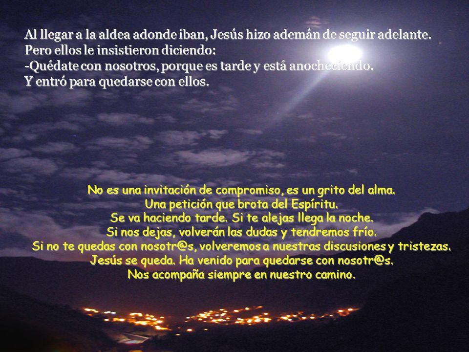 Entonces Jesús les dijo: -¡Qué torpes sois para comprender, y qué cerrados estáis para creer lo que dijeron los profetas! ¿No era preciso que el Mesía