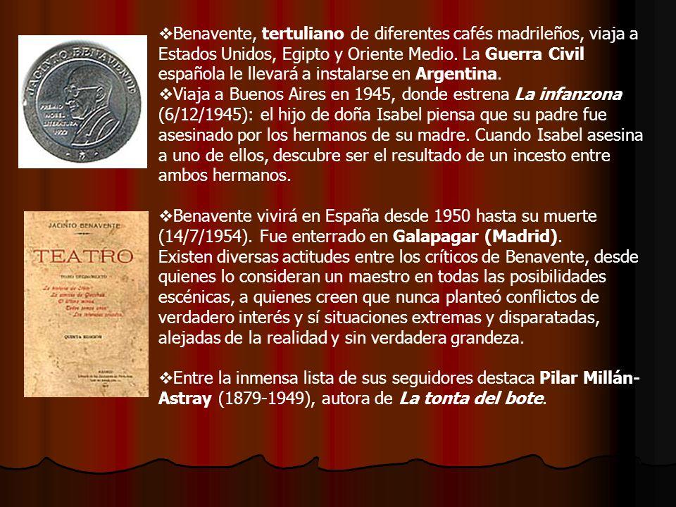 2.- Serafín y Joaquín Álvarez Quintero Uno de los mayores éxitos teatrales de estos años vino con los hermanos Serafín y Joaquín Álvarez Quintero (1871-1938 y 1873-1944, respectivamente) nacidos en Utrera (Sevilla).