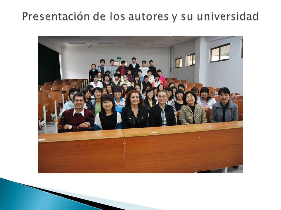 Es una universidad para mujeres.El departamento de español es muy nuevo.