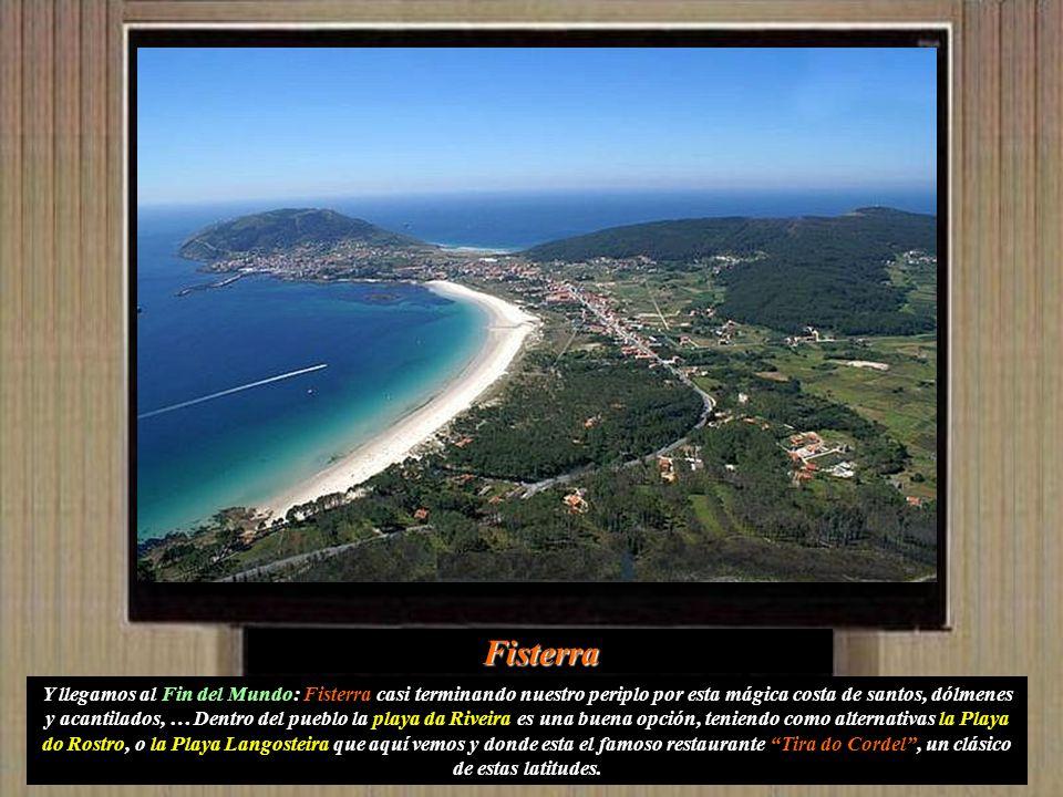Nemiña Playa de entorno virgen. Constituye un amplio arenal con forma de ensenada, que se extiende desde Nemiña hasta la playa de Lires. Apta para la