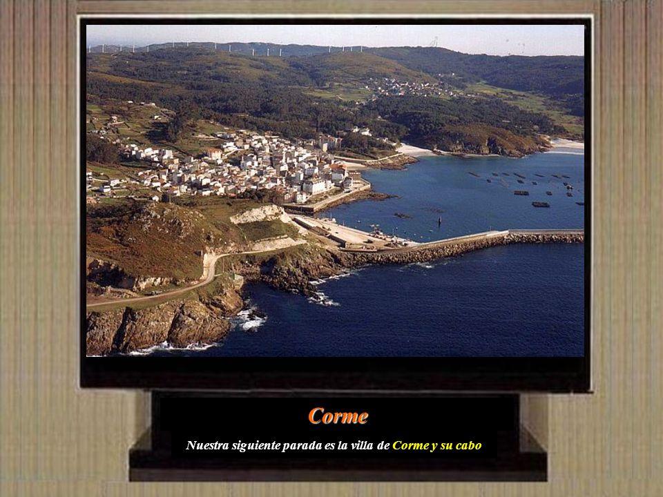 Retomando la carretera hacia Ponteceso, en la parroquia de Mens, podemos ver sus famosas Torres, último vestigio de la fortaleza medieval levantada po