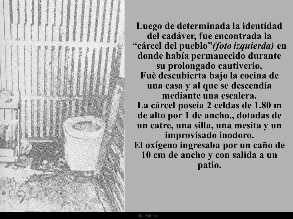 Ria Slides. Cnl Julio Argentino del Valle LARRABURE Año 1975 - Gobierno Constitucional... La guerrilla ¿contra quién peleaba? (...)Es hallado en un ba
