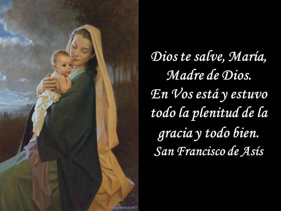 Cuando el Espíritu Santo encuentra a María en un alma, se siente atraído irresistiblemente hacia ella y en ella hace su morada. San Luis María Grignió