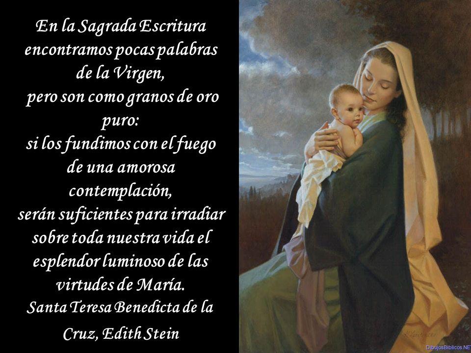 EL nombre de María es la alegría para el corazón, miel para los labios y la melodía para el oído de sus devotos. San Antonio de Padua EL nombre de Mar