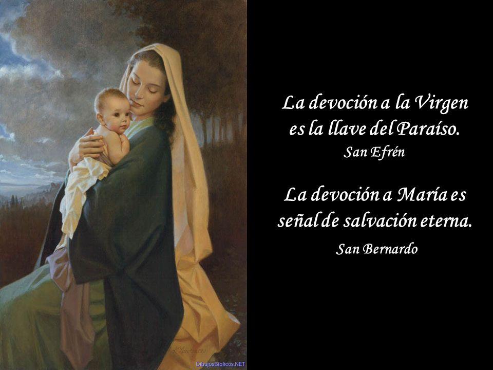 La contemplación de Cristo tiene en Maria su modelo insuperable.