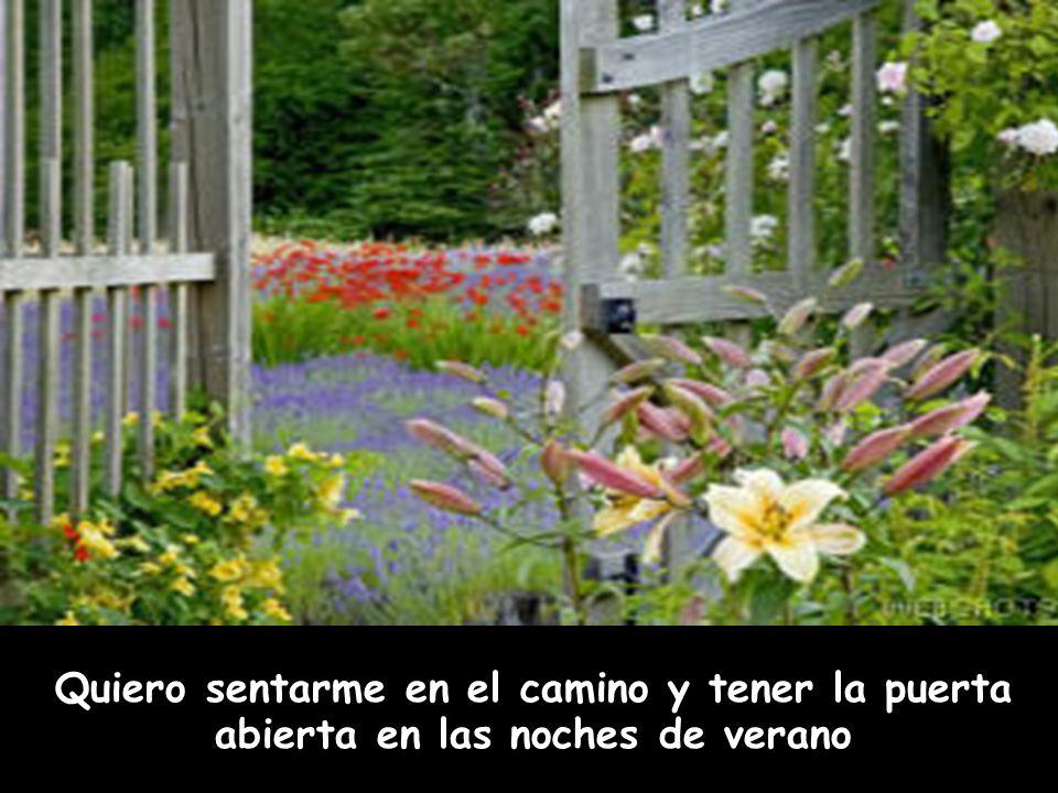 ¡¡Quiero quitar las rejas de mi ventana para tocar las flores!!