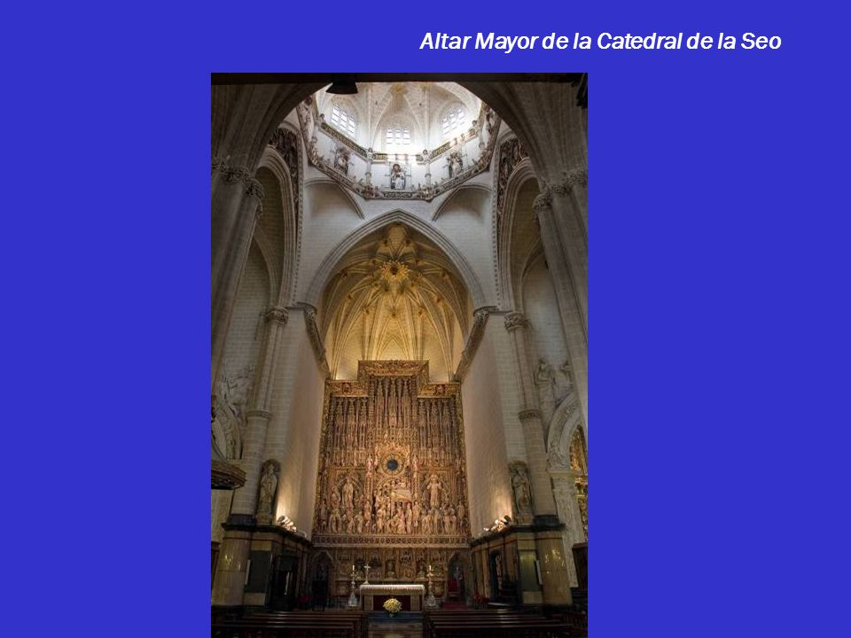 Nave Central Catedral de la Seo