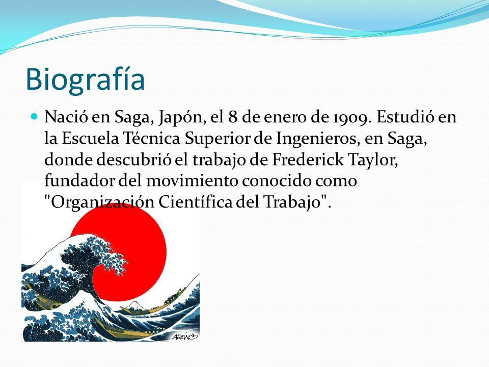 Biografía Nació en Saga, Japón, el 8 de enero de 1909. Estudió en la Escuela Técnica Superior de Ingenieros, en Saga, donde descubrió el trabajo de Fr