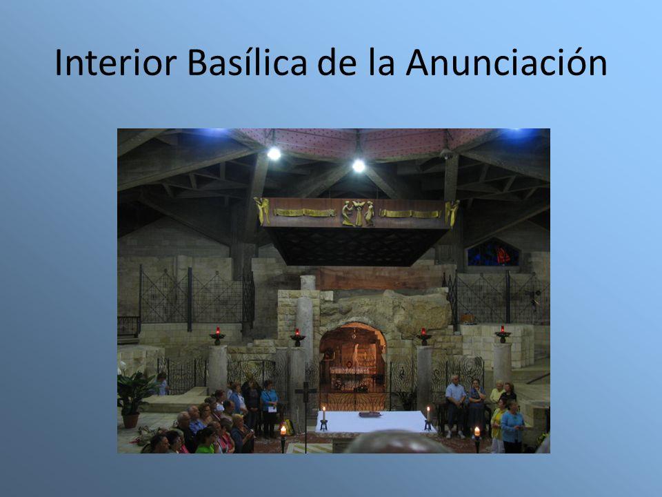 Interior Basílica de la Anunciación