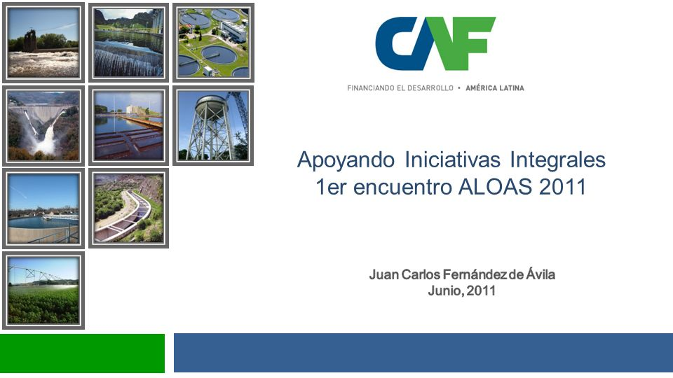 Apoyando Iniciativas Integrales 1er encuentro ALOAS 2011