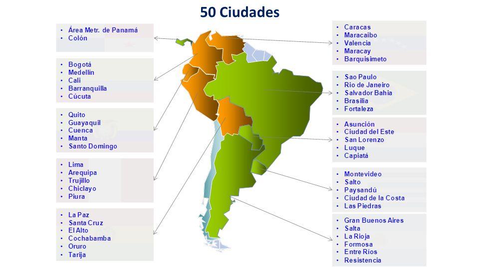 50 Ciudades