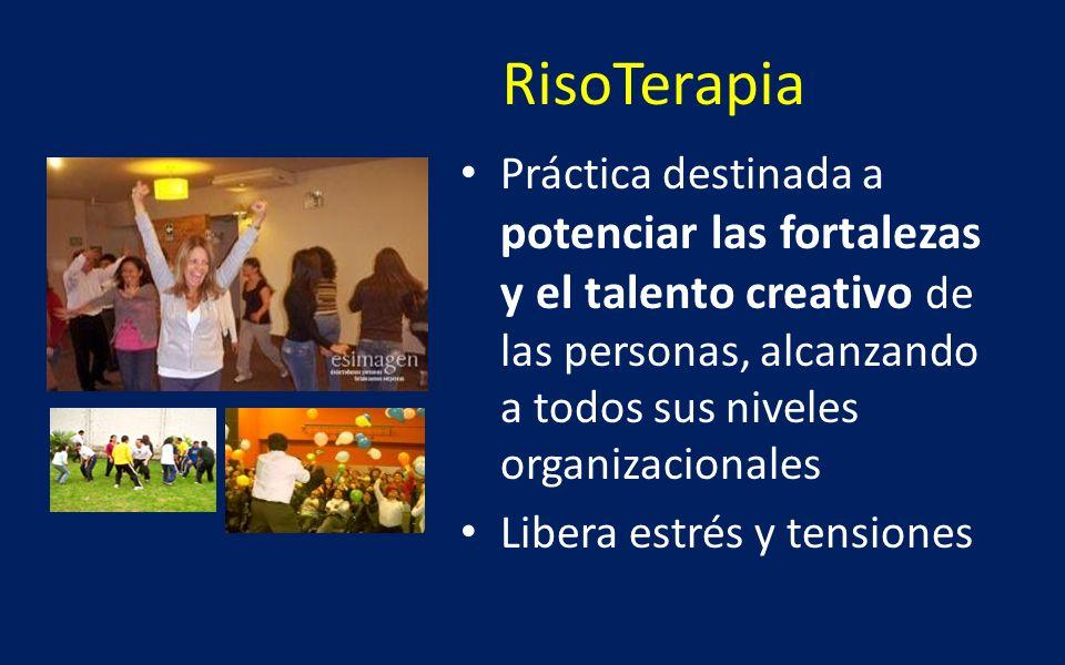 RisoTerapia Práctica destinada a potenciar las fortalezas y el talento creativo de las personas, alcanzando a todos sus niveles organizacionales Liber