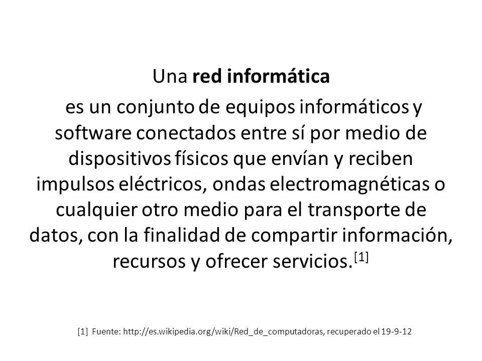 Introducción a Redes Informáticas