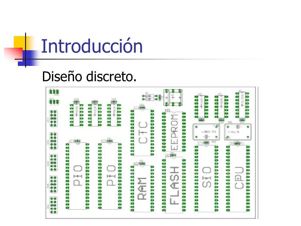 Digital I/O Implementadas por pines de conexión directa al exterior: Los MCU tienen en general de 8 a 32 pines (o más).